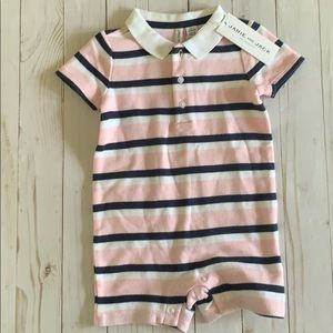 Janie and Jack short onesie